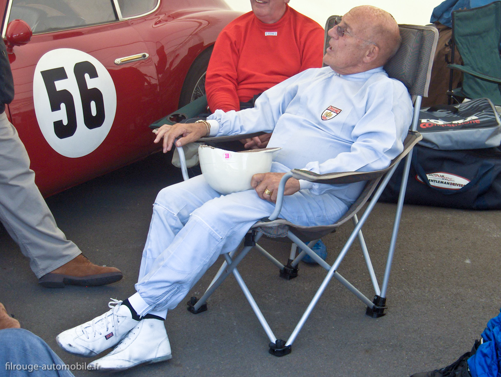 Stirling Moss sur - Le Mans Legend 2009