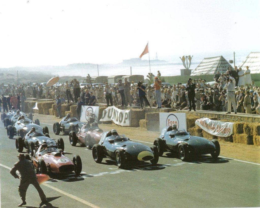 Départ du Grand Prix du Maroc 1958