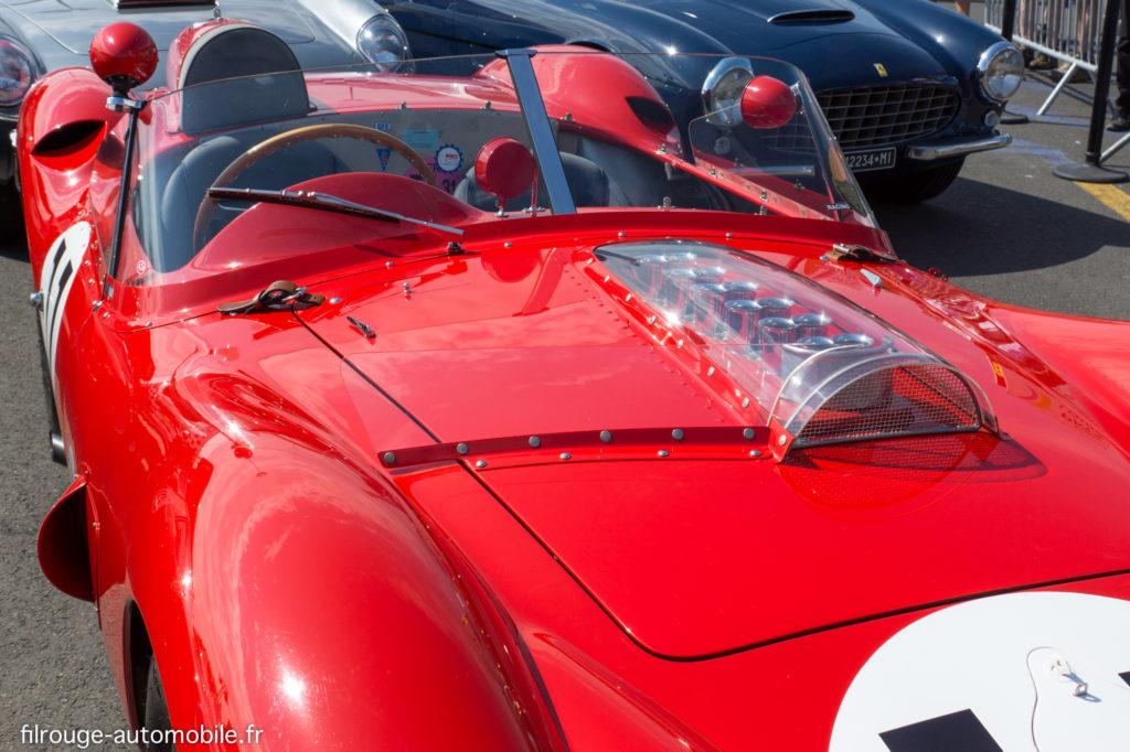 Ferrari 250 TR 59/60 - Vainqueur des 24 Heures du Mans 1960 - ici au Mans Classic 2014