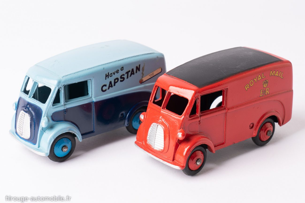 Morris J Royal Mail et Capstan - Dinky Toys 260 et 465