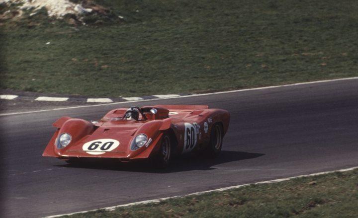 Ferrari 312 P (0870) - 4ème aux 6 heures de Brands Hatch 1969
