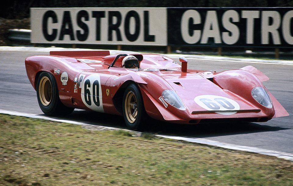 Ferrari 312 P - 4ème aux 6 heures de Brands Hatch 1969