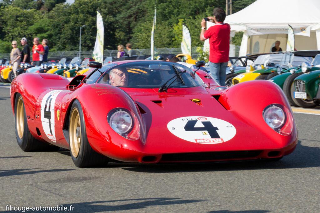 Ferrari 312 P - abandon aux 24 heures du Mans 1969