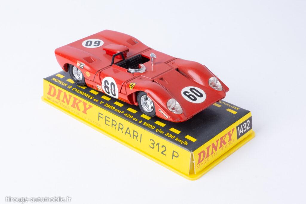 Ferrari 312 P - Dinky Toys ref. 1432