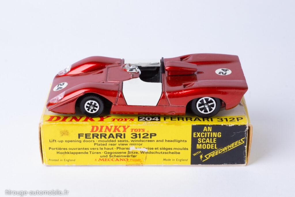 Ferrari 312 P - Dinky Toys ref. 204
