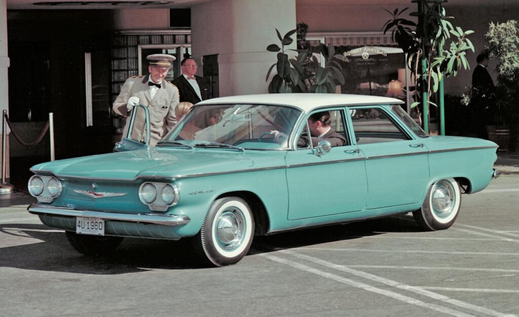 Chevrolet Corvair - photo année 1960