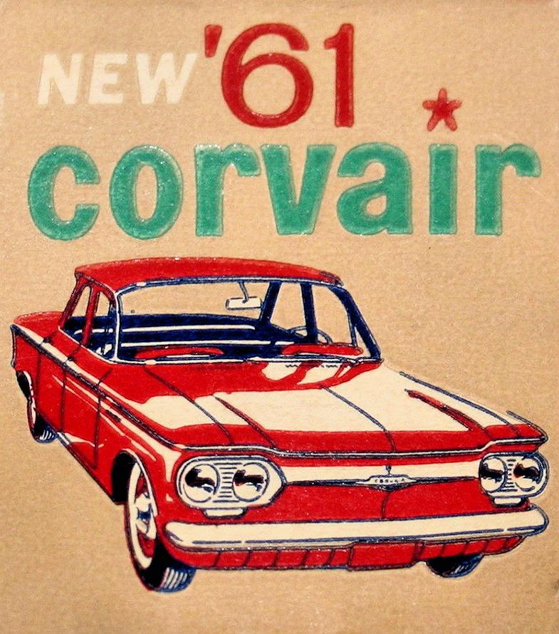 Publicité Chevrolet Corvair
