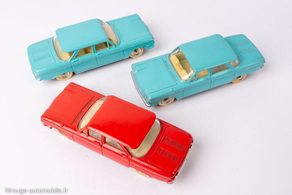 Cevrolet Corvair - Dinky toys réf. 552 - Type1, 2 et 3