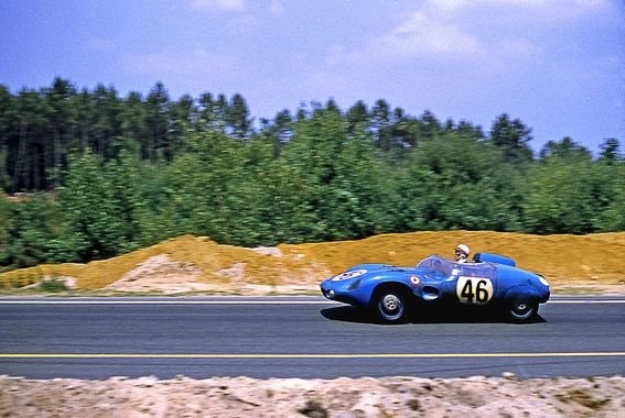 D.B Panhard HBR4 chässis 1093 - 9ème des 24 Heures du Mans 1959
