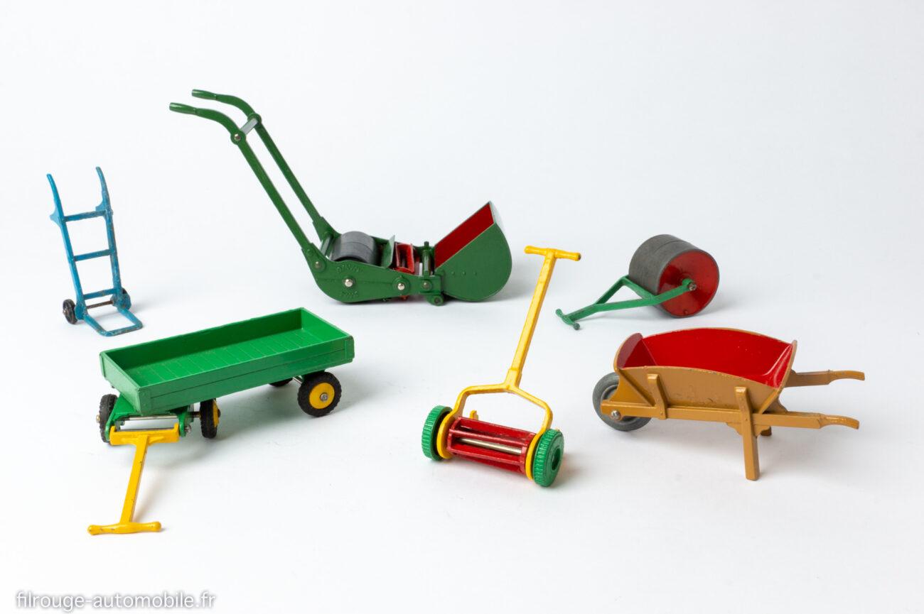Dinky Toys - Les accessoires de jardin