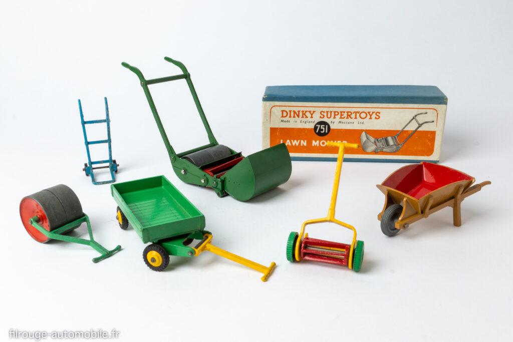 Série des accessoires de jardin Dinky Toys anglais