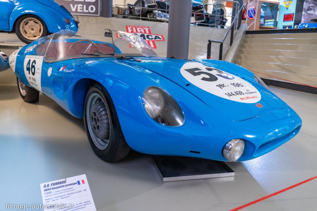 D.B Panhard HBR4 24 Heures du Mans 1959 - Musée des 24 Heures du Mans