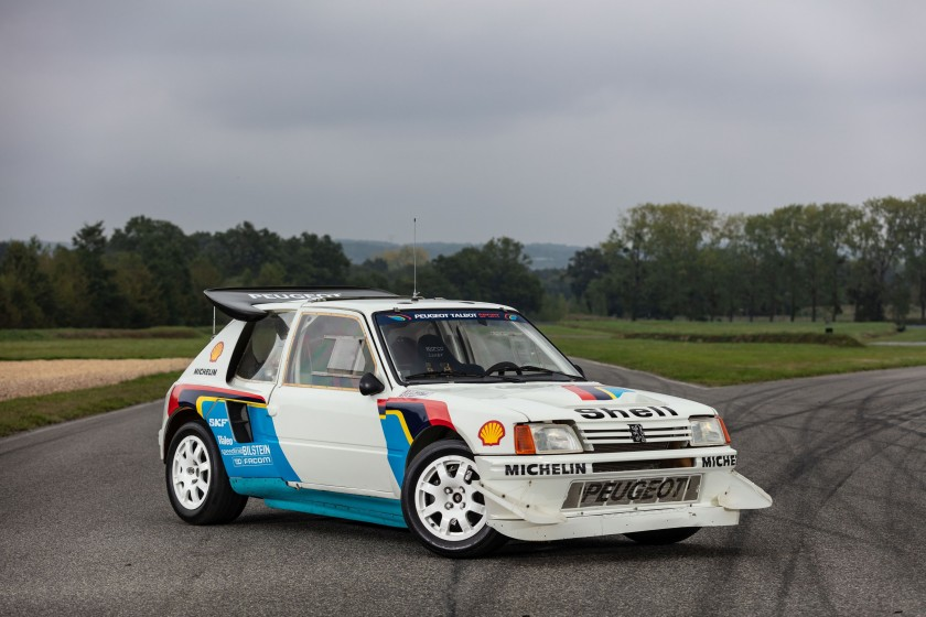 Peugeot 205 Turbo 16 (photo Artcurial)