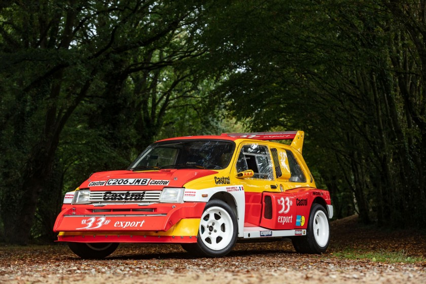 MG Metro 6R4 (photo Artcurial)