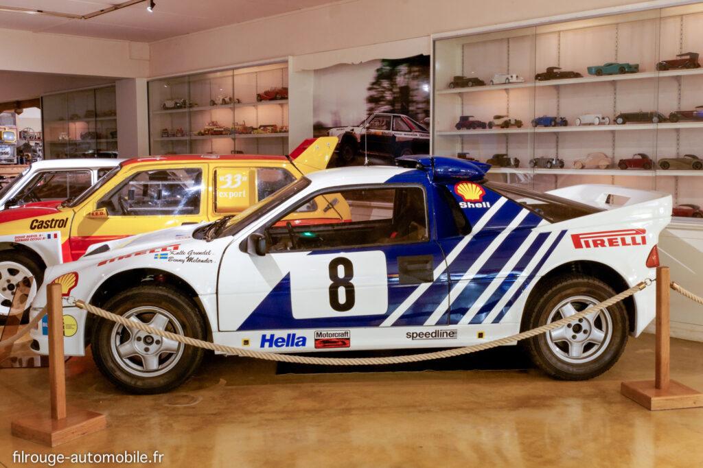 Ford RS 200 - Ici au Musée de Lohéac