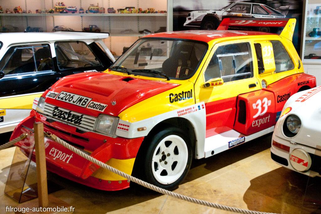 MG Metro 6R4 - Ici au Musée de Lohéac