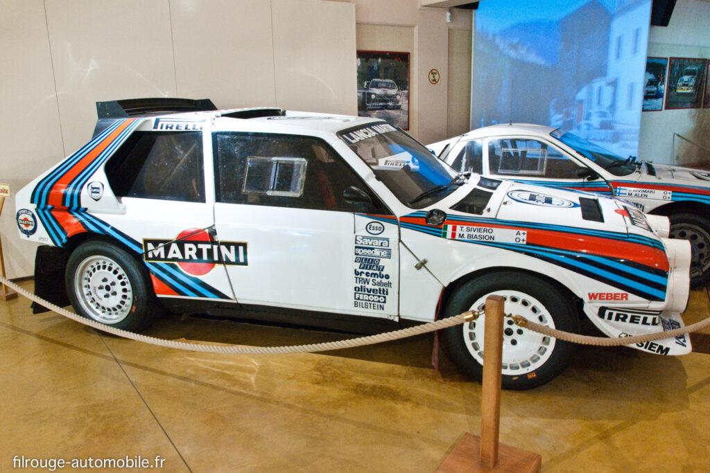 Lancia Delta S4 - Ici au Musée de Lohéac