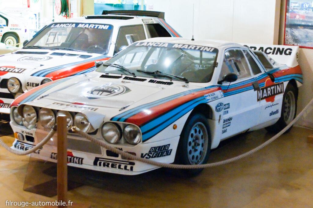 Lancia 037 - Ici au Musée de Lohéac