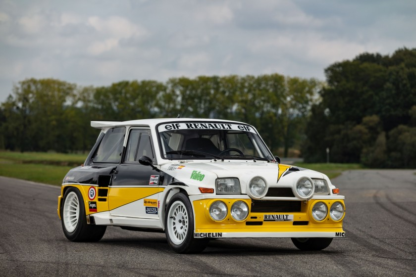 Renault 5 Maxi Turbo (photo Artcurial)