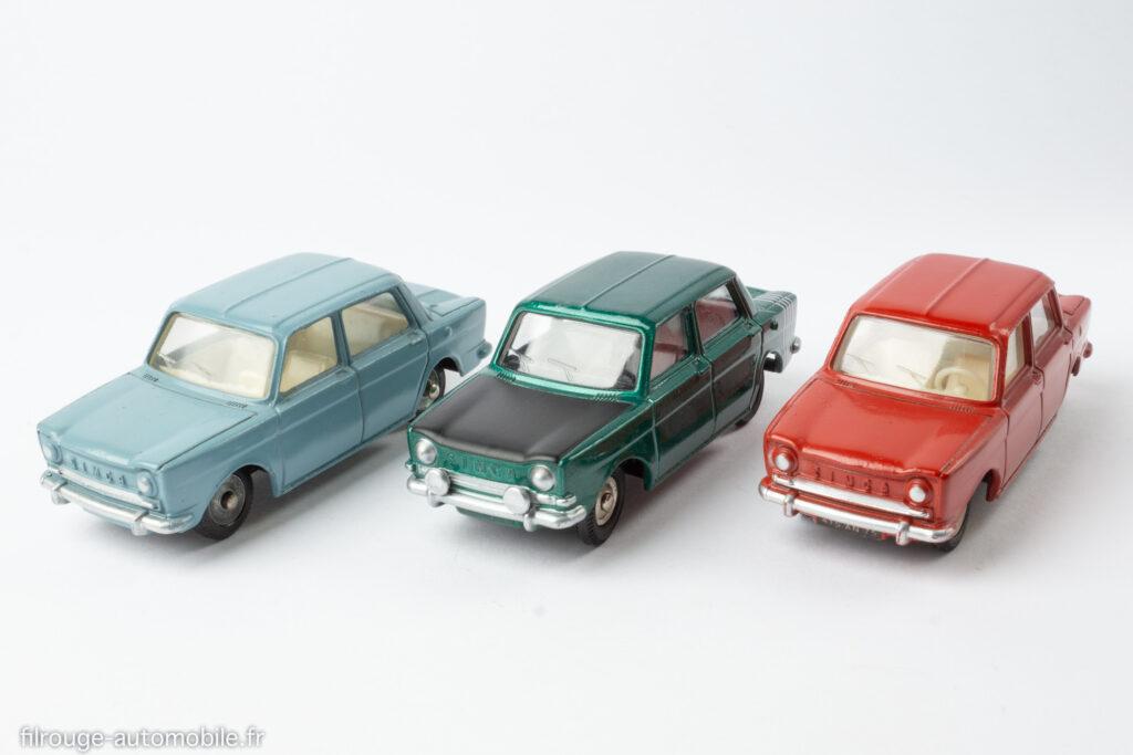 Simca 1000 Dinky Toys réf. 519 et 520