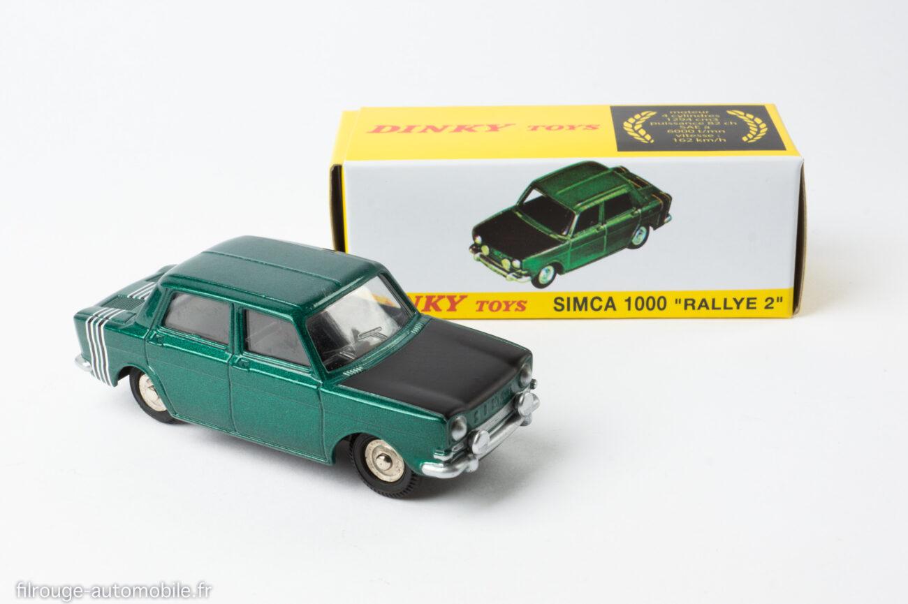Dinky Toys Editions Atlas ref. 520 - Simca 1000 Rallye 2