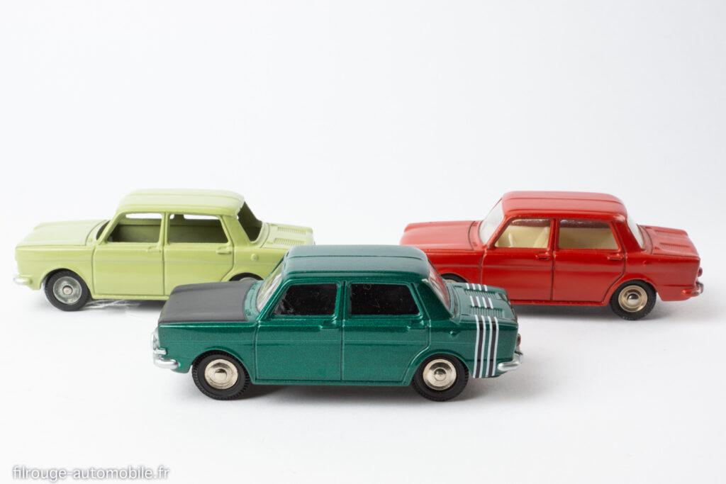 Simca 1000 Dinky Toys réf. 519, 520, 104