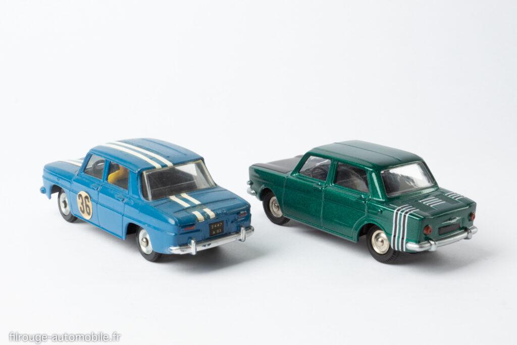 Dinky Toys - Renault 8 Gordini avec le prototype de la Simca 1000 Rallye 2