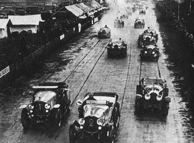 Départ des 24 Heures du Mans 1923