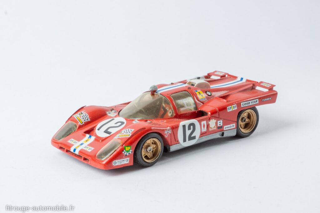 24 Heures du Mans 1971 - Ferrari 512 M 3ème - 1/43ème M.P.A