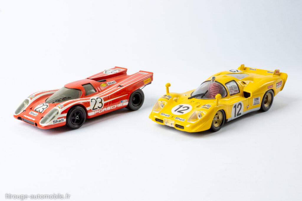 24 Heures du Mans 1970 - Porsche 917 vainqueur et Ferrari 512 S 5ème - 1/43ème Provence Moulage / Altaya