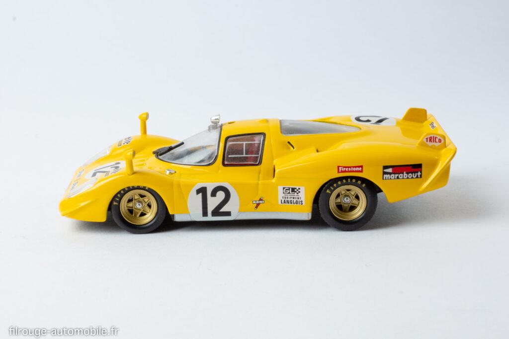24 Heures du Mans 1970 - Ferrari 512 S 5ème - 1/43ème Altaya