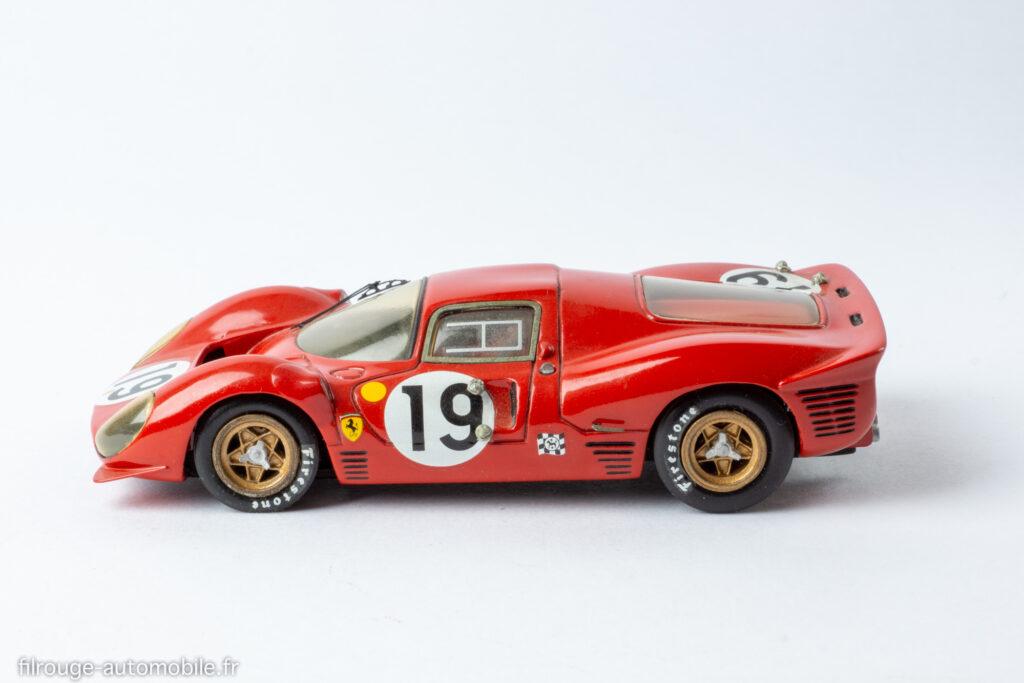 24 Heures du Mans 1967 - Ferrari P4 -1/43ème AMR