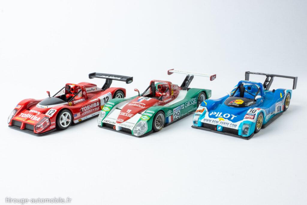 24 Heures du Mans 1998 et 1999 - Ferrari 333 SP - 1/43ème Spark et IXO