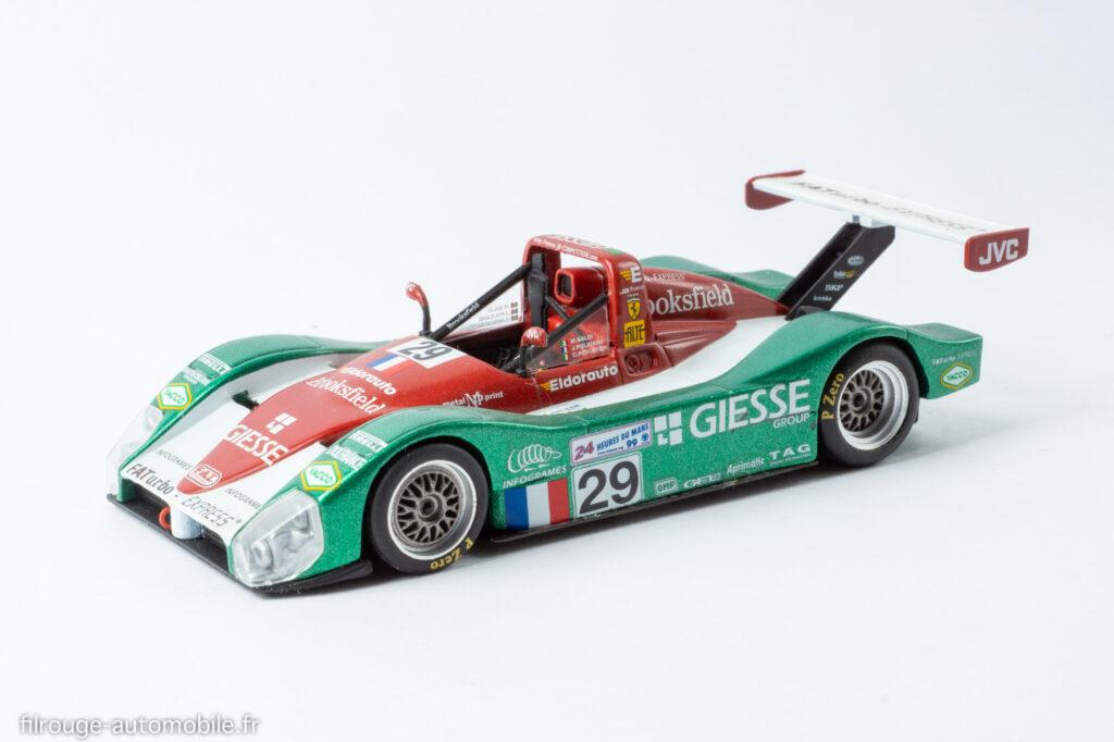 24 Heures du Mans 1999 - Ferrari 333 SP - 1/43ème Spark