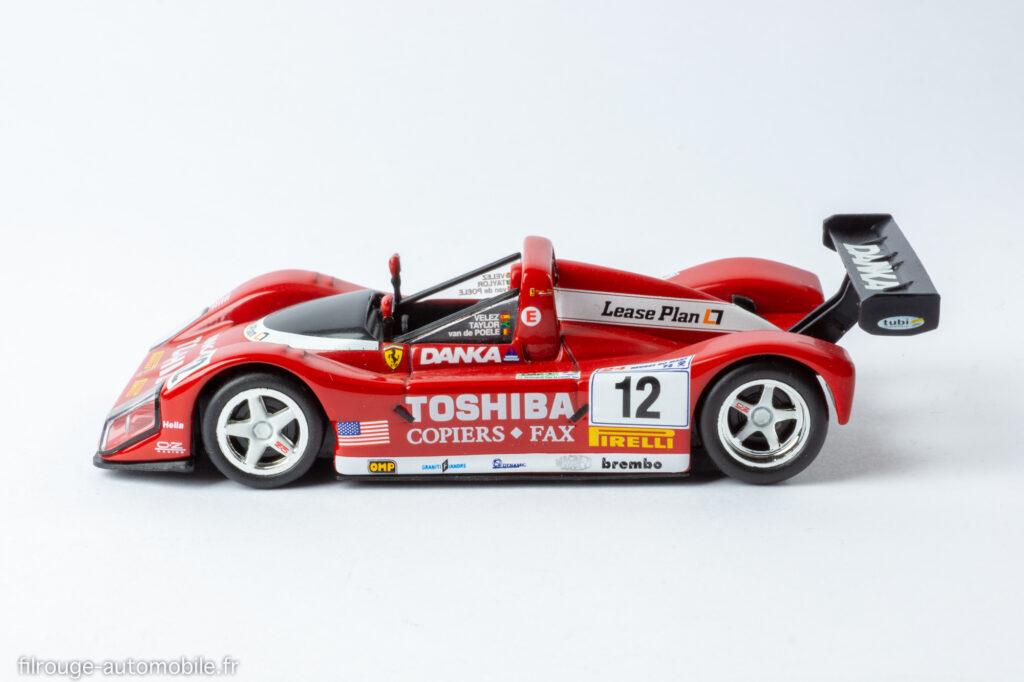 24 Heures du Mans 1998 - Ferrari 333 SP 8ème et vainqueur LMP1 - 1/43ème IXO
