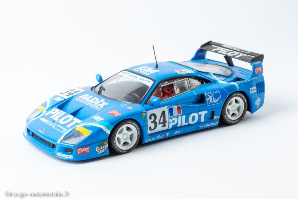 24 Heures du Mans 1995 - Ferrari F 40  12ème - 1/43ème IXO
