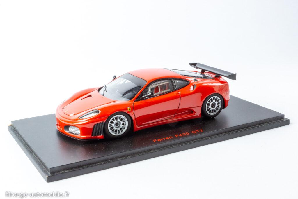 24 Heures du Mans 2007 - Ferrari F430 GT2 - 1/43ème Red Line