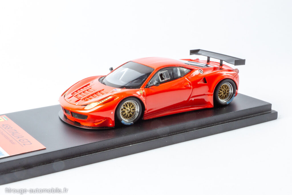 24 Heures du Mans 2012 vainqueur LM GTE Pro - Ferrari F458 Italia GT2 - 1/43ème Fujimi