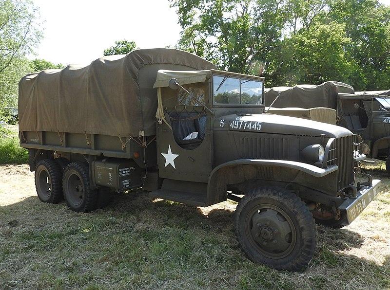 GMC CCKW bâché - Armée américaine