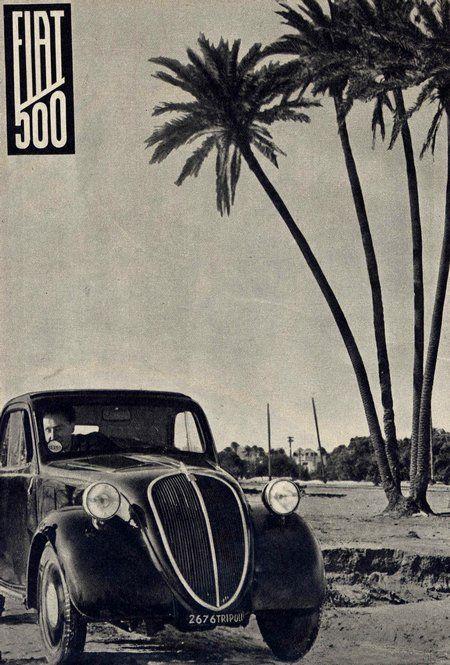 Publicité Fiat 500 Topolino