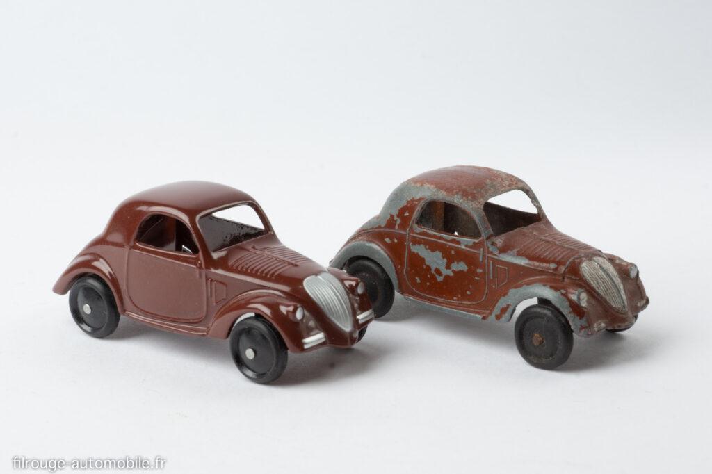 Dinky Toys Réf. 35 a & reproduction Editions Atlas - Simca 5