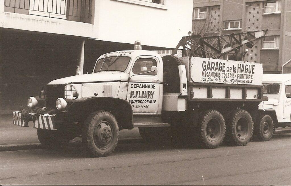 GMC CCKW transformé en dépanneuse après guerre
