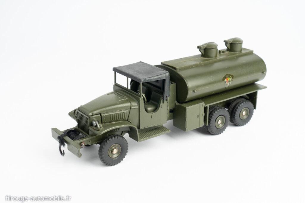 Dinky Toys réf. 823 - GMC CCKW citerne militaire