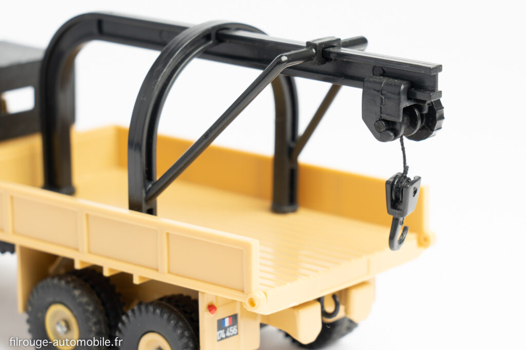 Dinky Toys réf. 808 - détail GMC CCKW dépannage