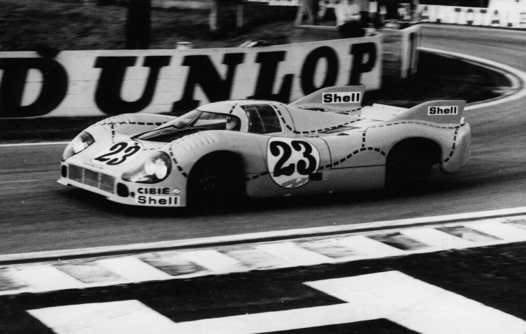"""24 Heures du Mans 1971 - Porsche 917 n°23 """"cochon rose"""""""