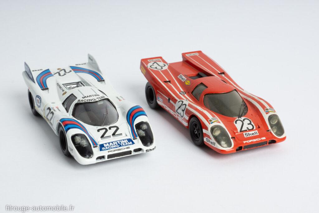 Solido et Record - Porsche 917 1ère du Mans 1970 et 1971