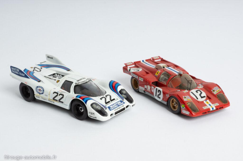 Solido réf 198 - Porsche 917K vainqueur et MPA réf 014 - Ferrari 512 M 3ème