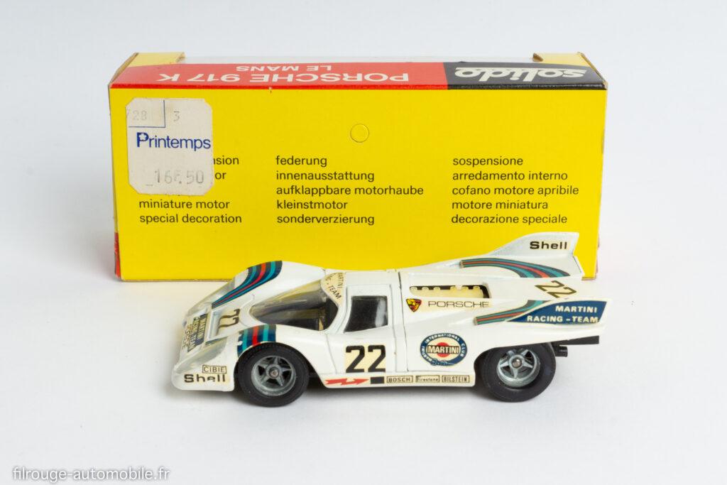 Solido 198 premier modèle - Porsche 917 1ère du Mans 1971