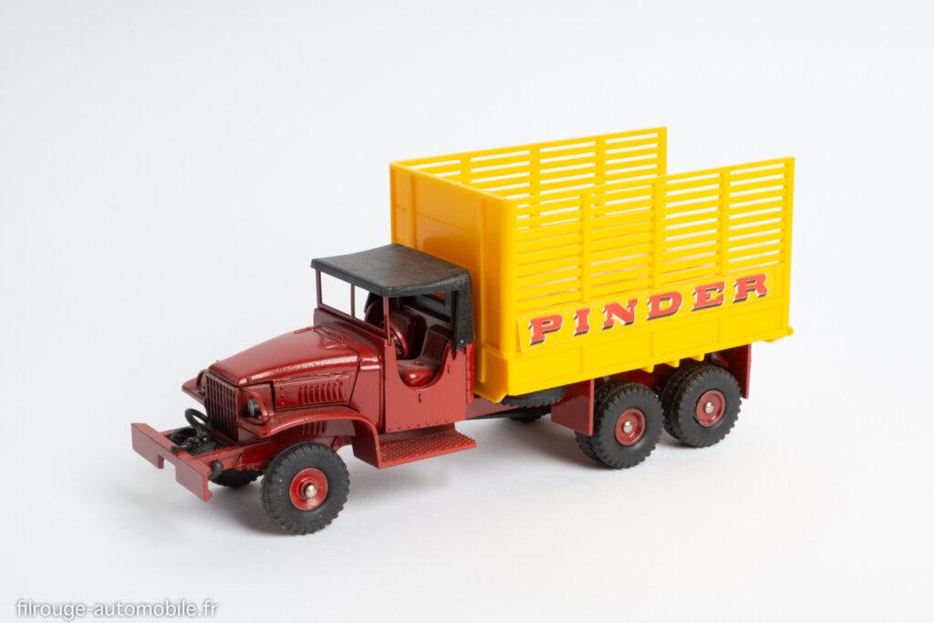 Dinky Toys réf. 881 - GMC CCKW fourragère Pinder