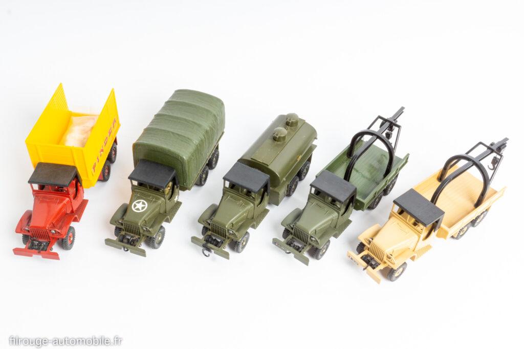 Dinky Toys - la série des GMC CCKW